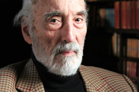 Programme Name: Timeshift: How to be Sherlock Holmes - The Many Faces of a Master Detective - TX: n/a - Episode: Timeshift: How to be Sherlock Holmes - The Many Faces of a Master Detective (No. n/a) - Embargoed for publication until: n/a - Picture Shows:  Christopher Lee - (C) BBC - Photographer: Matthew Thomas